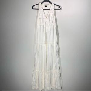 {Theory} Linen Blend Jillian Maxi Dress 6